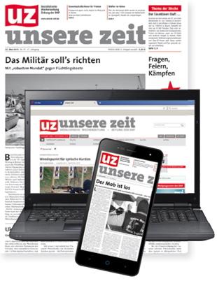 UZ - Unsere Zeit - Sozialistische Wochenzeitung - Zeitung der DKP